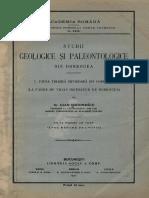 Fauna Triasica Inferioara Din Dobrogea Simionescu,1911_trias