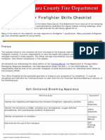 SCFD Annual Vol FF Skills Checklist