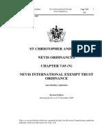 Nevis International Exempt Trust Ordinance_7.03 (1)