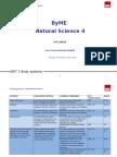 Programacion Natural Science 4 English