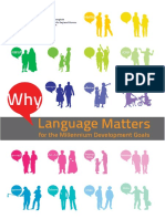 Why Language Matters in the Millenium Development Goals