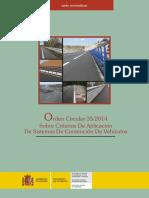 SPANIA - Norme Tehnice de Amplasare Parpeti