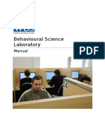 Behavioural Science Lab Manual 2014