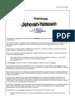 Orden Simulado - Jehovah-Yaldabaoth