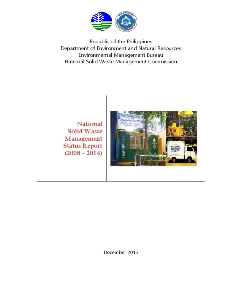National solid waste management status report 2008 to 2014 national solid waste management status report 2008 to 2014 landfill waste management malvernweather Gallery