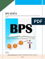 BPS Lay Ministry KENYA