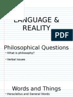 Language and Social Circles
