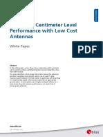 AntennasForRTK WhitePaper (UBX-16010559)