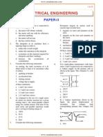 IES OBJ Electrical Engineering 1998 Paper II