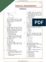 IES OBJ Electrical Engineering 2001 Paper II