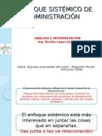 Enfoque Sistémico de La Administración-Analisis