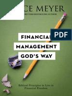 Financial Management Gods Way