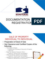 Documentation and Registration