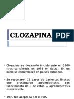Clozapina y Olanzapina