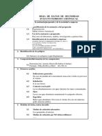 Ficha Seguridad. Sulfato Ferroso Amoniacal
