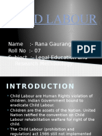 CHILD LABOUR Presentation