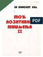 Norman Vincent Peale Moć Pozitivnog Mišljenja 2 SR Ćirilica
