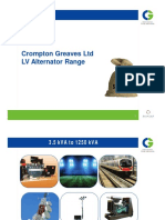 CG Alternator Range