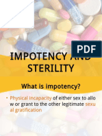 Impotency and Sterility