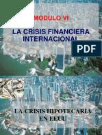 Analisis Del Entorno Modulo Vi La Crisis Financiera Internacional 2013