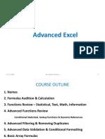 MSc Advanced Excel -Classes PPT - V1.4