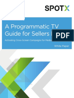 Programmatic TV Guide