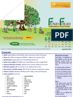 FUND FOLIO - Indian Mutual Fund Tracker - September 2016