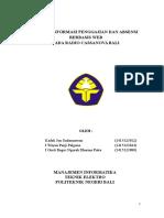 Karya Tulis Ilmiah - Sistem Informasi Absensi