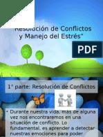 Resolución de Conflictos y Manejo Del Estrés