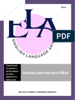 SEA ELA 2016 Students Resource
