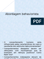 Abordagem behaviorista