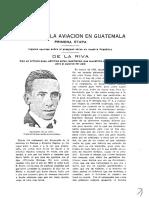 Historia de La Aviación Nacional de Guatemala