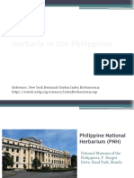 Herbaria in the Philippines