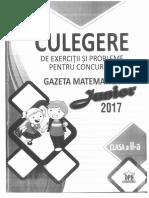 Gazeta Matematica Junior 2017