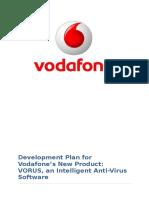 New product development in Vodafone reprort