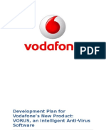 New product development in Vodafone reprort