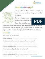Fichas de Comprensión Lectora 1º primaria