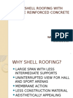 HYPAR SHELL ROOFING WITH TRC