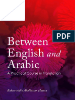Between English and Arabic a Practical Course in Translation - Facebook Com LibraryofHIL