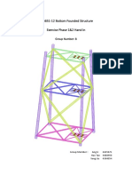Primary design of an offshore jacket structure in English Channe