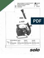 Manual Solo 423