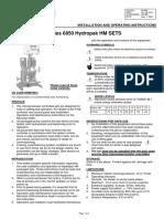 62 890L 6850 Hydropak HM Sets IOI