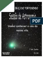 Cartaz de astronomia