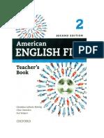 Aef Teacher Book