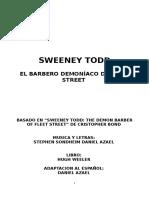 Sweeney Todd-libreto español