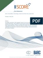 AR BARC Business Intelligence Score 2015 En