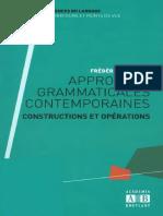 Approches Grammaticales Contemporaines - Académia