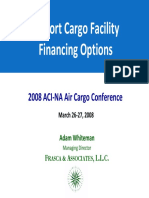 Cargo Airport Financing
