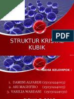 Struktur Kristal Kubik