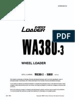 WA380-6 Shop Manual